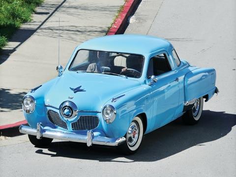 1950 1951 Studebaker Bullet Nose Commander Classic Studebaker Car Automobile Magazine