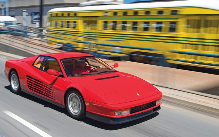 Collectible Classic 1984,1991 Ferrari Testarossa
