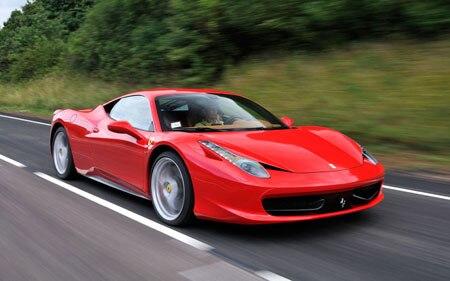 First Test Ferrari 458 Italia