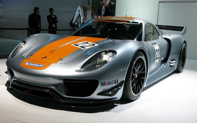 Porsche 918 RSR Hybrid , First Look , Automobile Magazine