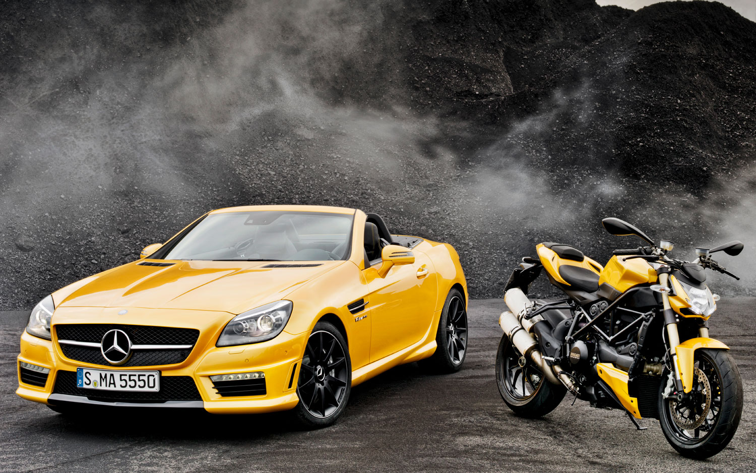 Color Matched Mercedes Benz Slk55 Amg Show Car Wears Ducati Yellow Paint,Vital Proteins Collagen Peptides