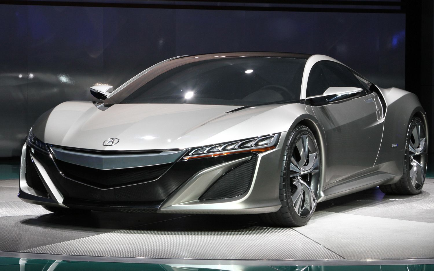 First Look Acura Nsx Concept