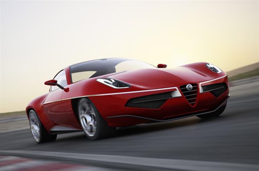 Alfa Romeo Disco Volante >> Touring Superleggera Turns Alfa Romeo 8c Into Stylish Disco
