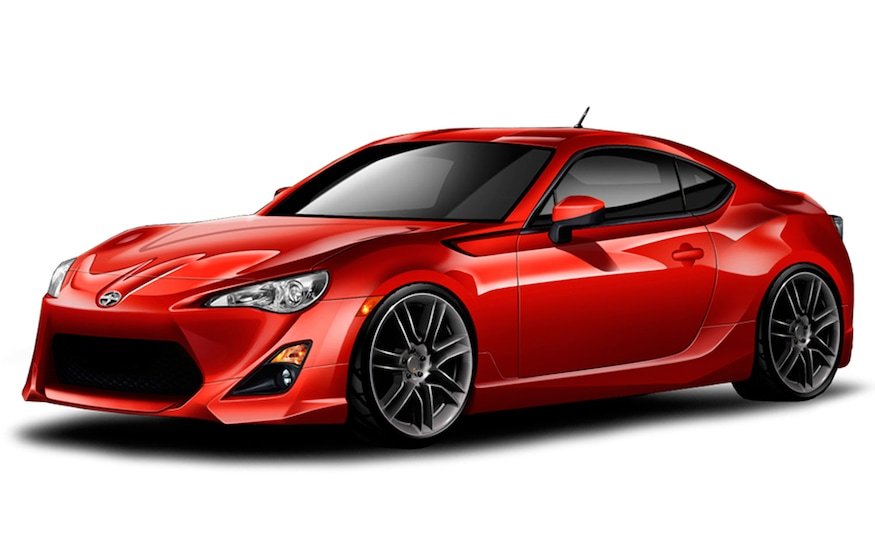 Scion Frs Parts >> 2013 Scion Fr S Performance Parts Include New Five Axis Body