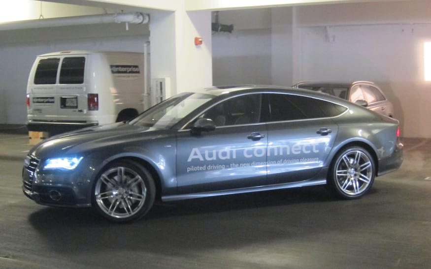 Audi Piloted Driving >> Ces 2013 Audi Demonstrates Self Parking Self Driving