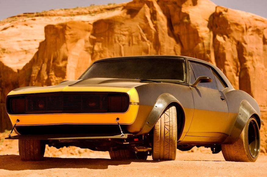 Transformers 4: Bumblebee Becomes A 1967 Chevrolet Camaro