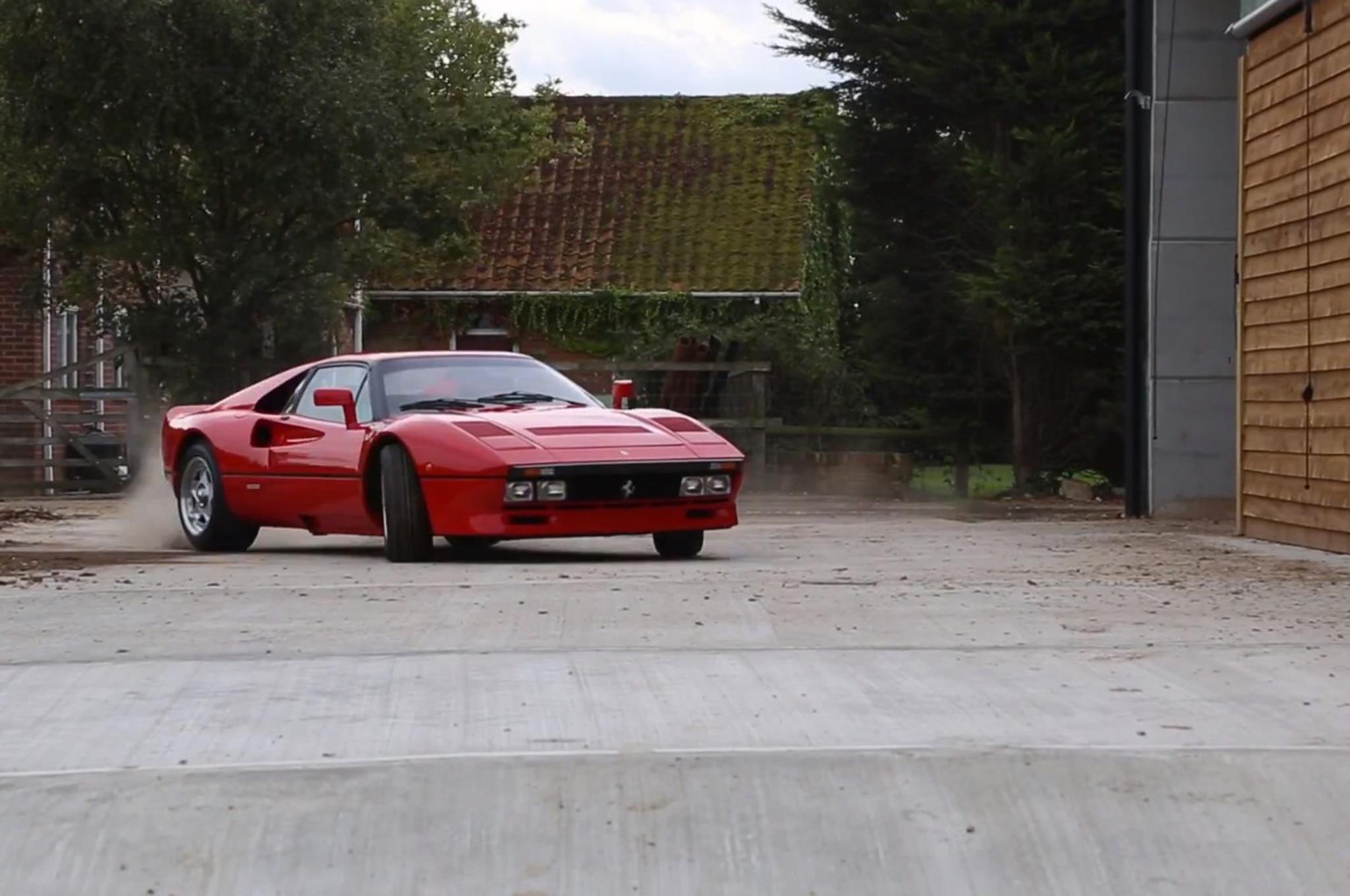 Watch A $1.3 Million Ferrari 288 GTO Rally Around A Farm