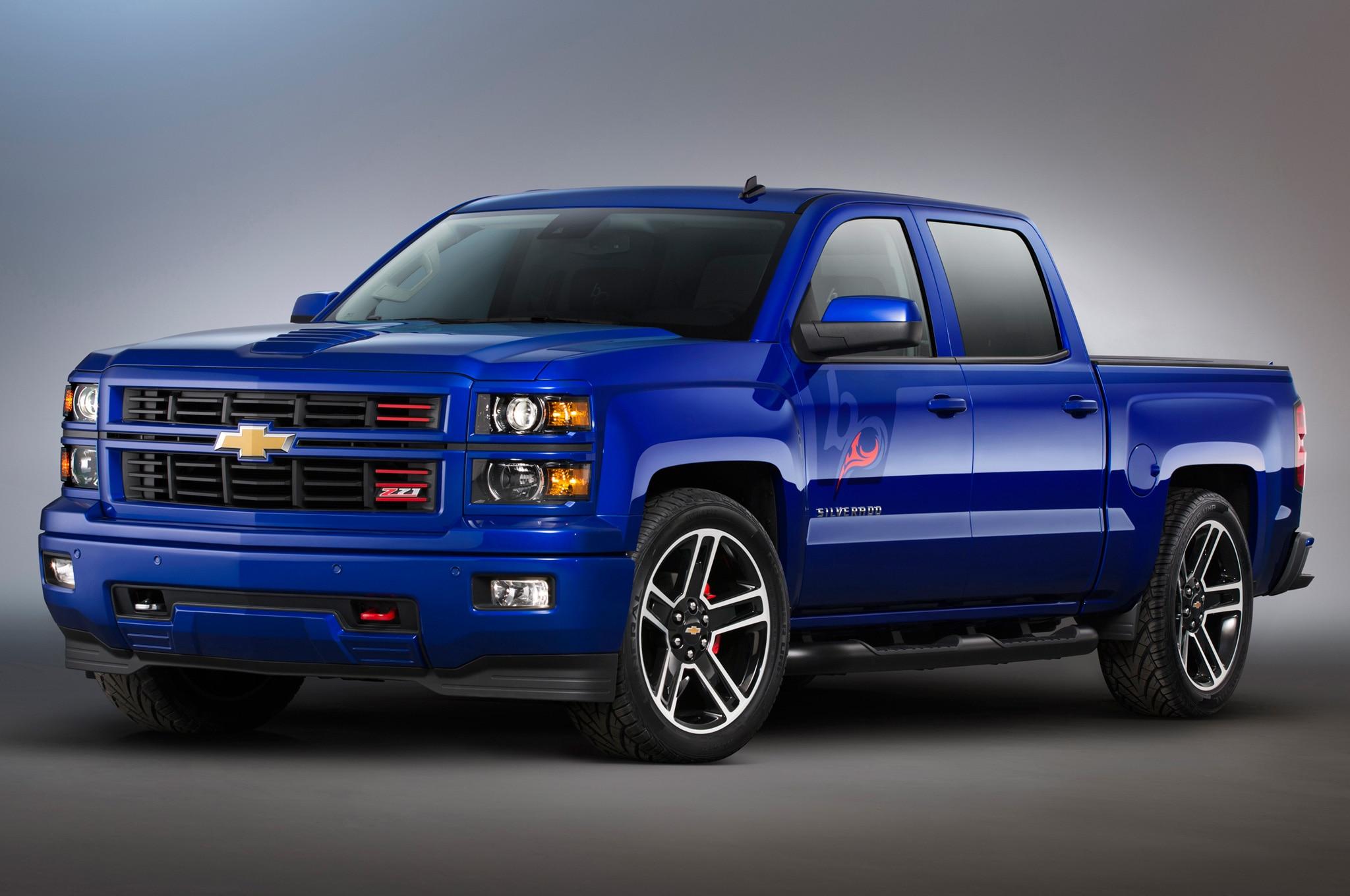 Silverado Black Ops >> SEMA 2013: Chevrolet Rolls Out Customized 2014 Silverado ...