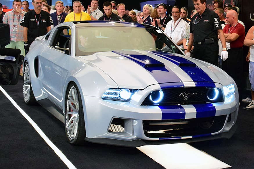 Need For Speed Ford Mustang Auctioned For 300 000