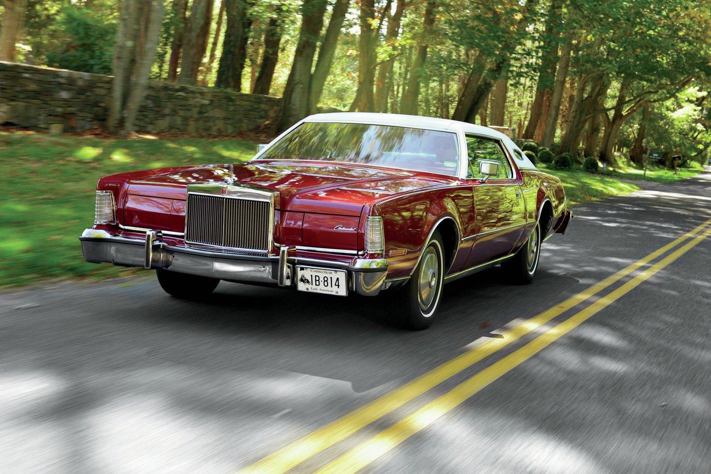 Original 1972 Lincoln Full Line Mark IV Continental Sales Brochure Lot of 4 72