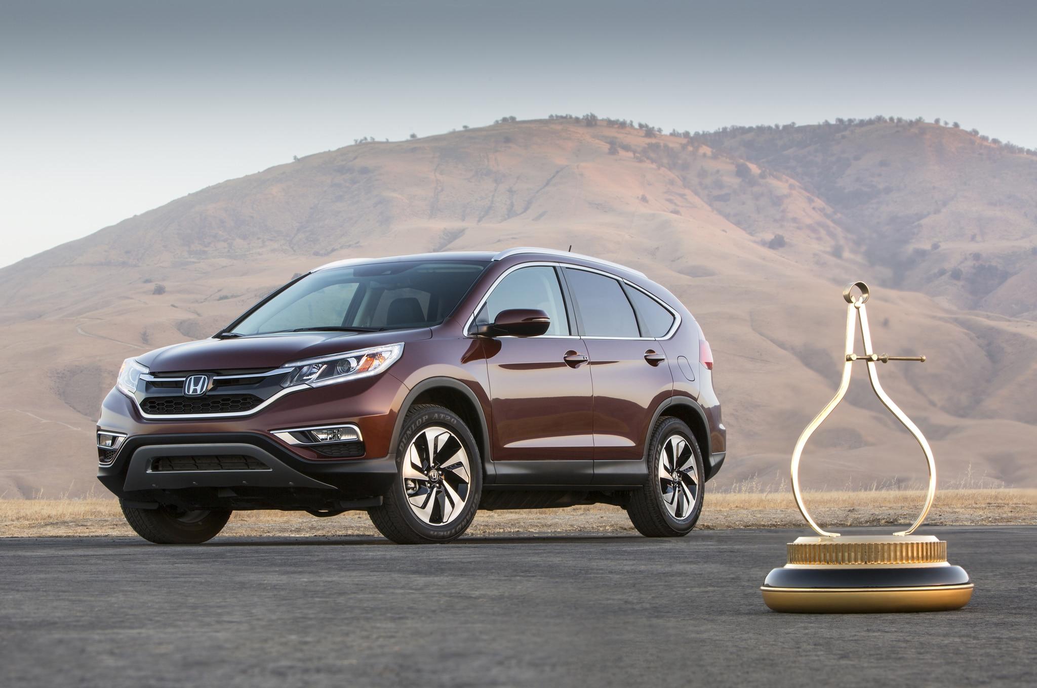2015 Honda CR-V Wins Motor Trend SUV of the Year