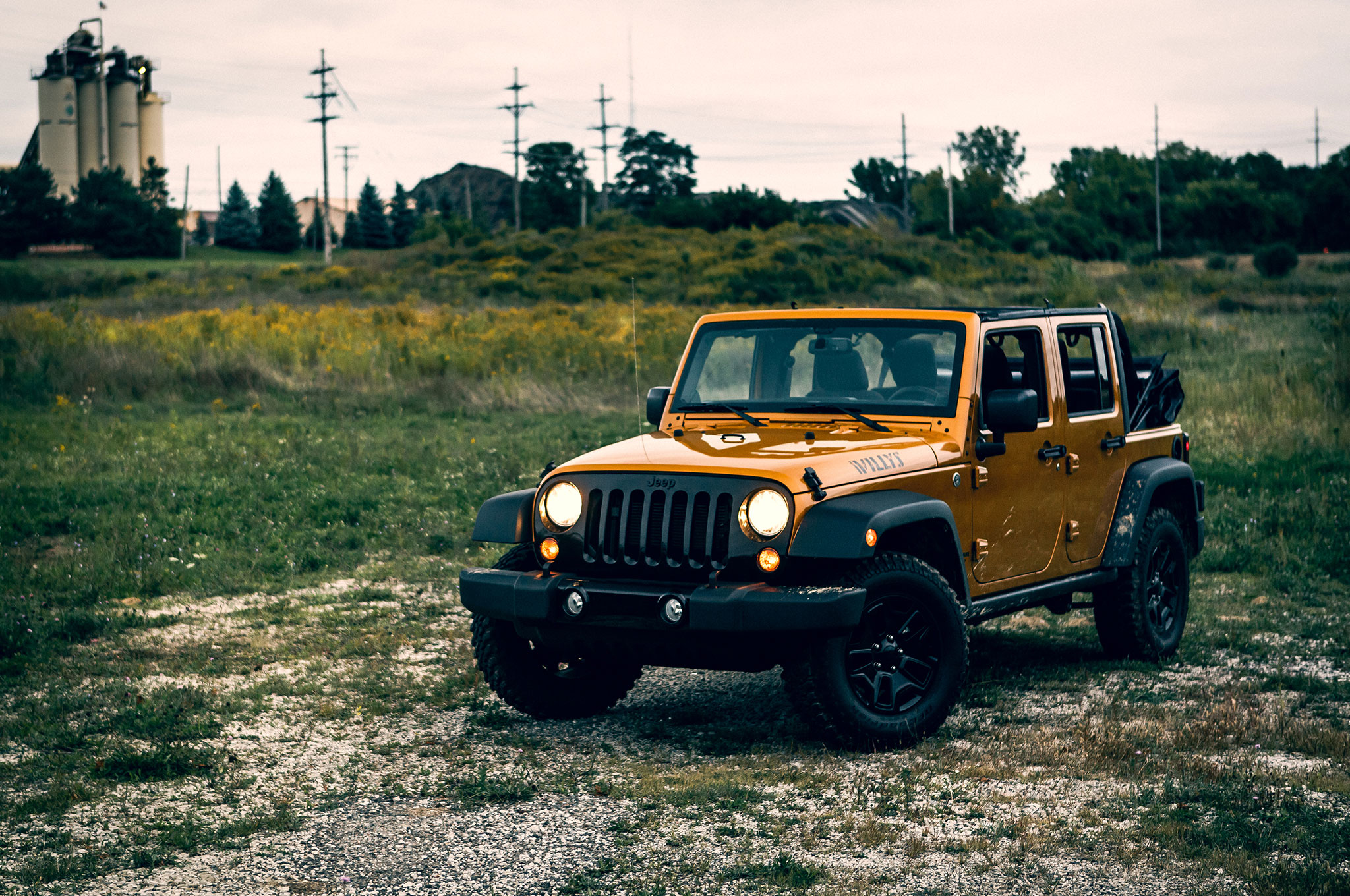 2014 Jeep Wrangler Unlimited Willys Wheeler Around The Block
