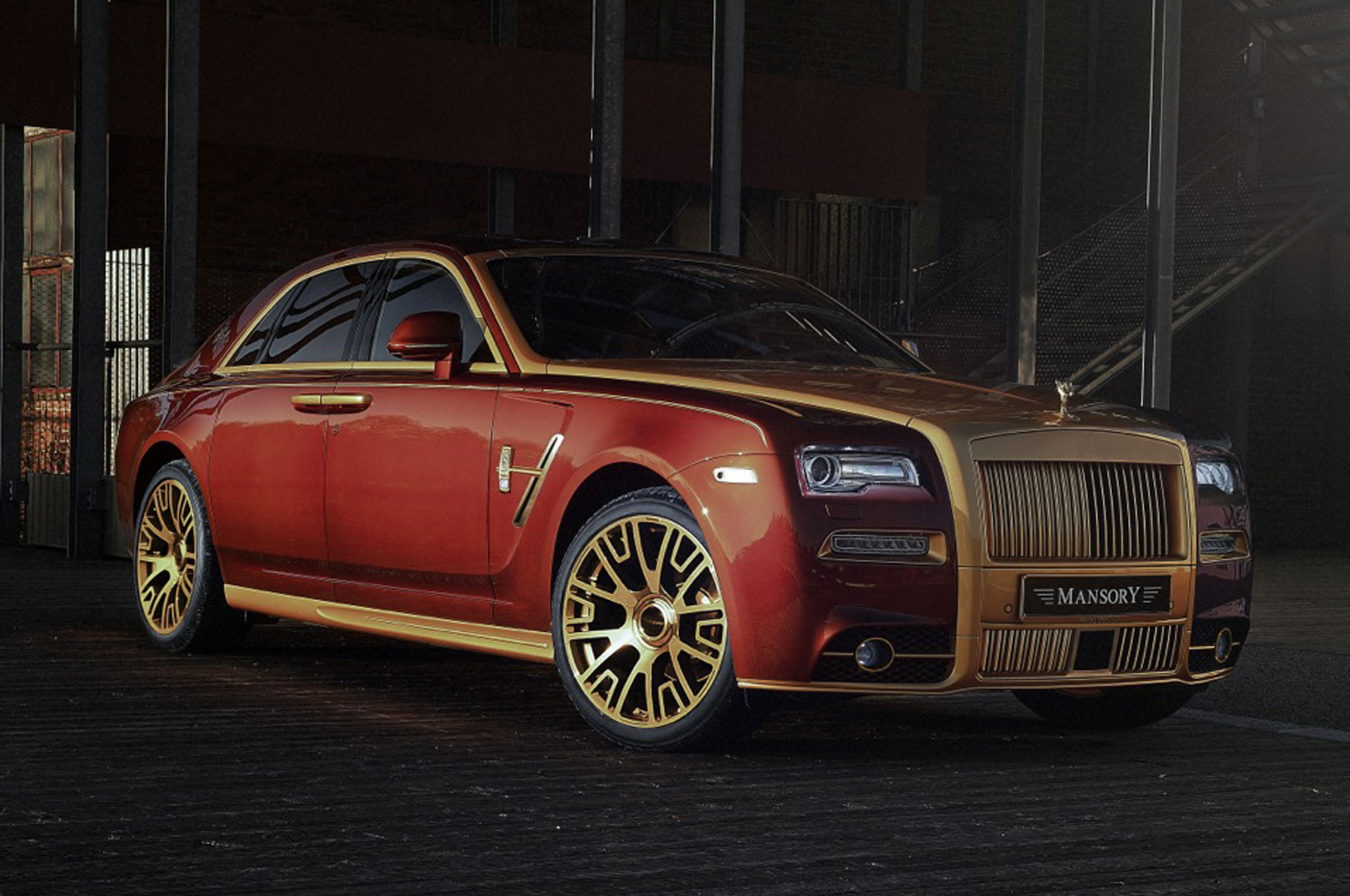 Mansory Shows Rolls Royce Ghost Series Ii Upgrades