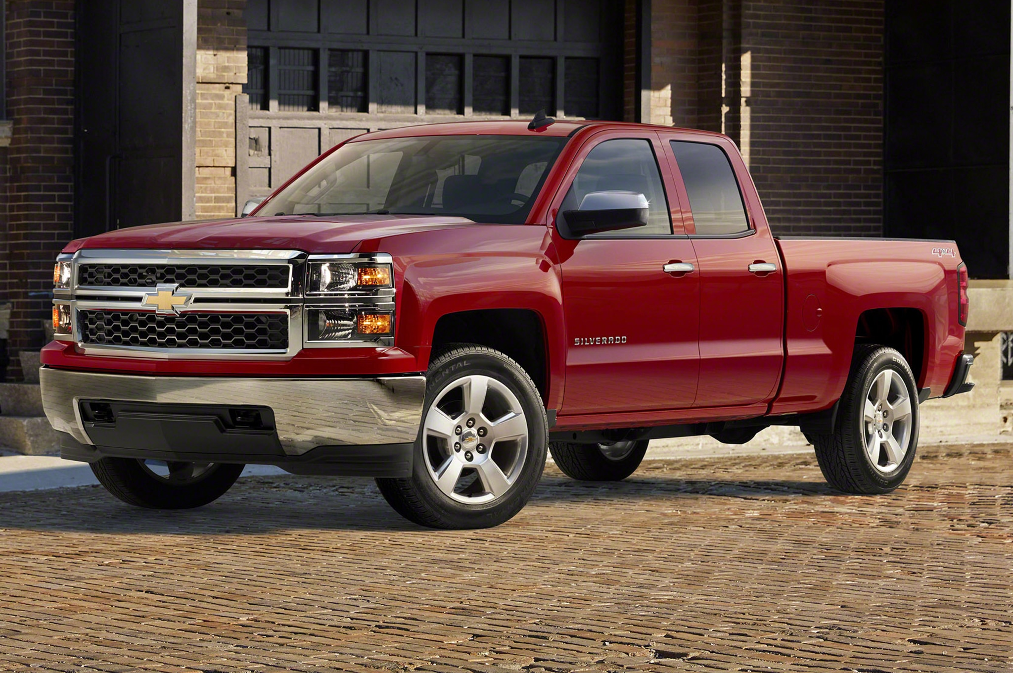 2015 Chevrolet Silverado Custom Adds 20 Inch Wheels Chrome Bumpers