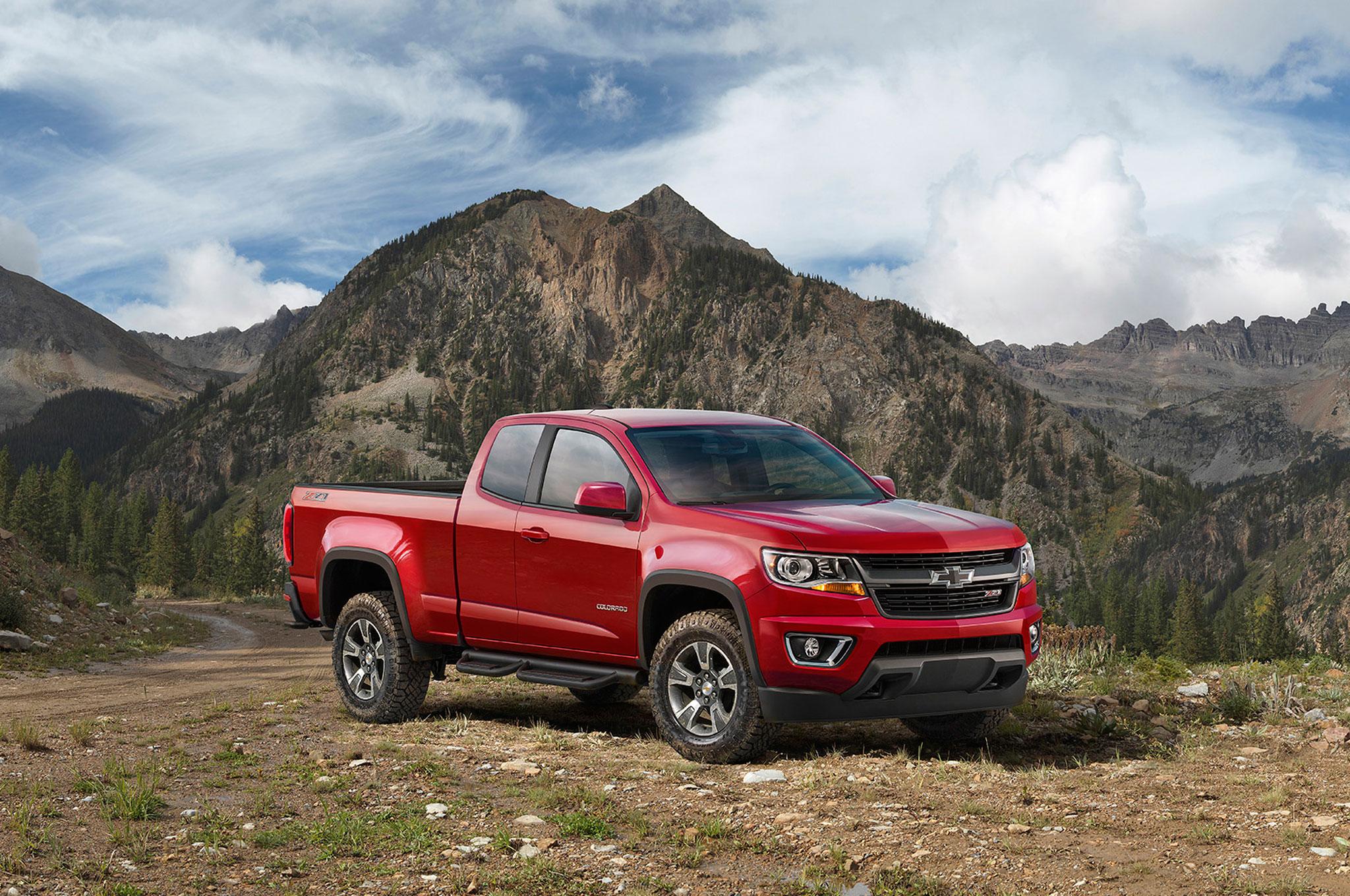Chevrolet Debuts Off-Road Ready Colorado Z71 Trail Boss