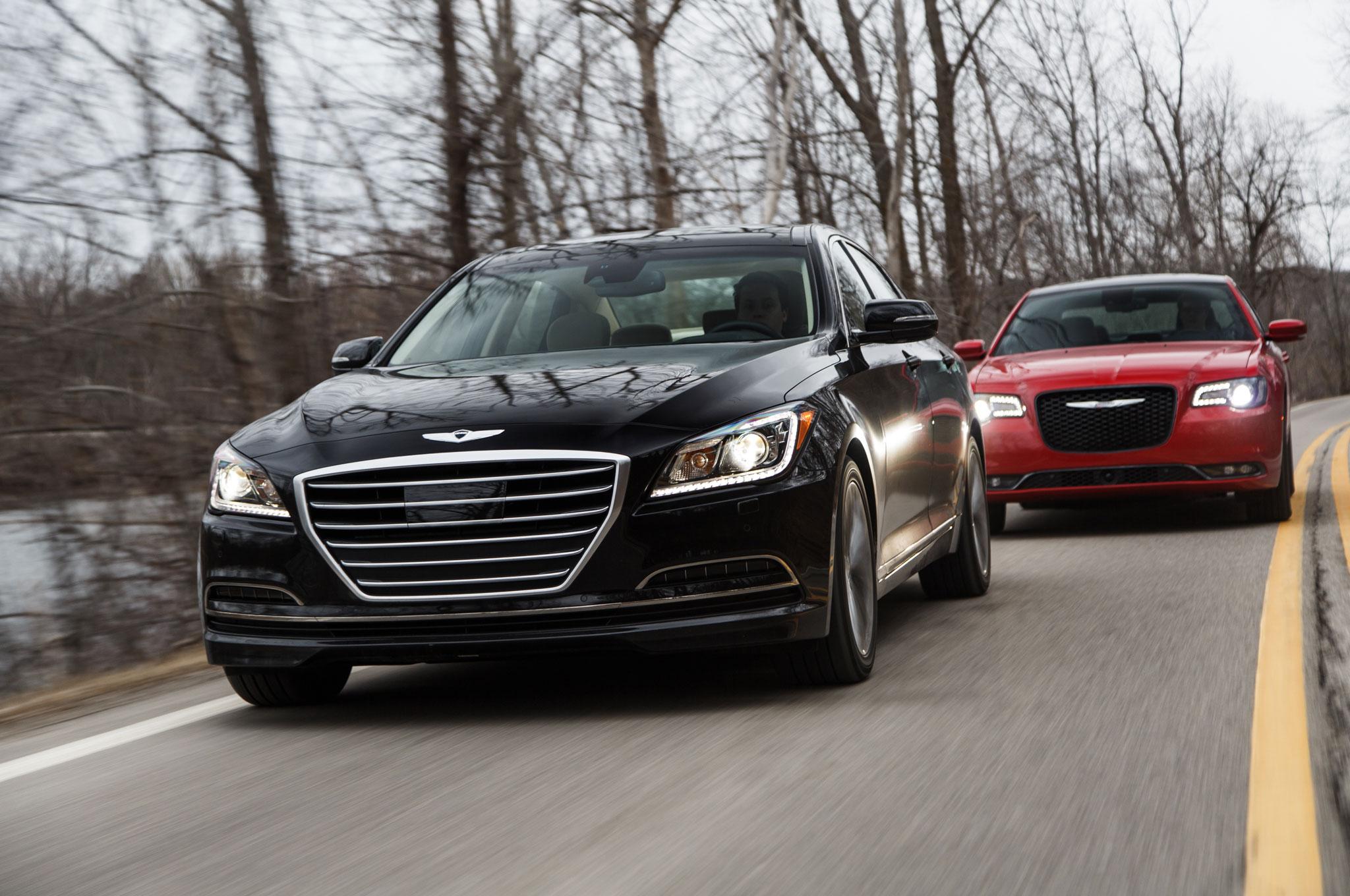 2015 Chrysler 300 Vs 2015 Hyundai Genesis Comparison