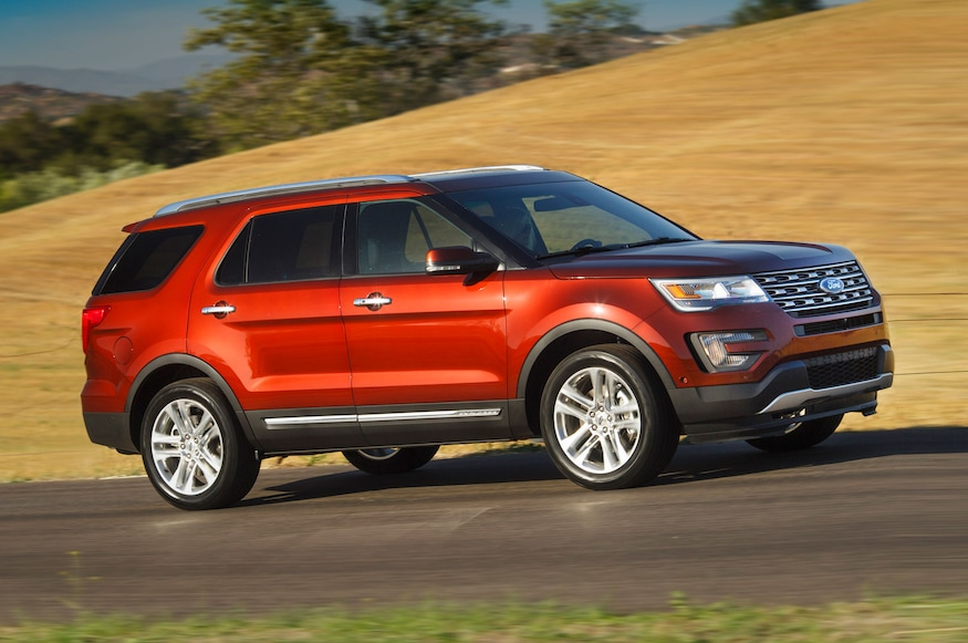 2016 Ford Explorer Towing Capacity >> 2016 Ford Explorer Review Automobile
