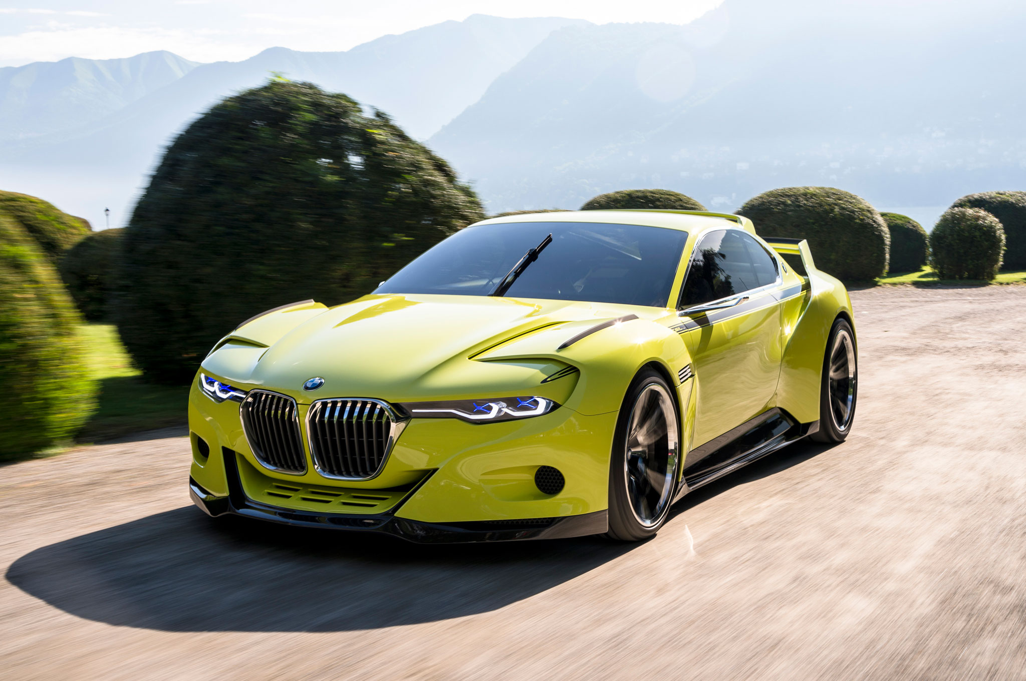 Bmw 3 0 Csl Hommage Concept World Exclusive First Drive