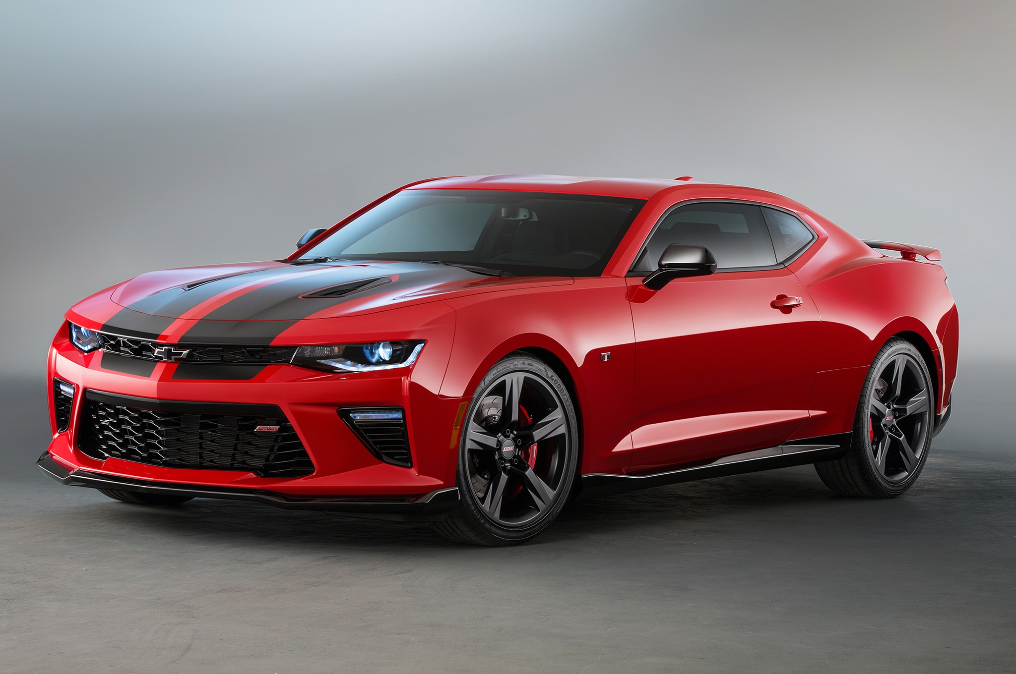 2016 Chevrolet Camaro SS Red, Black Accent Concepts Head ...