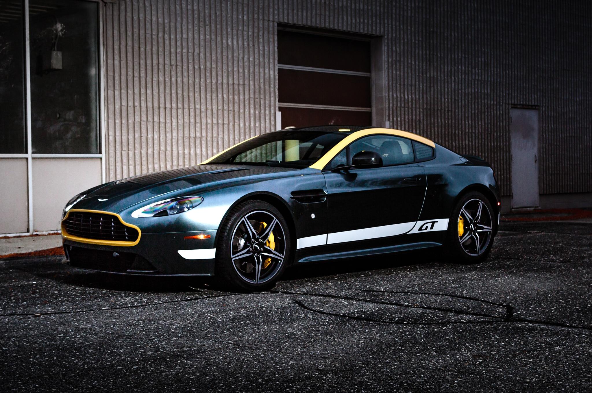 2016 Aston Martin Vantage Gt Review