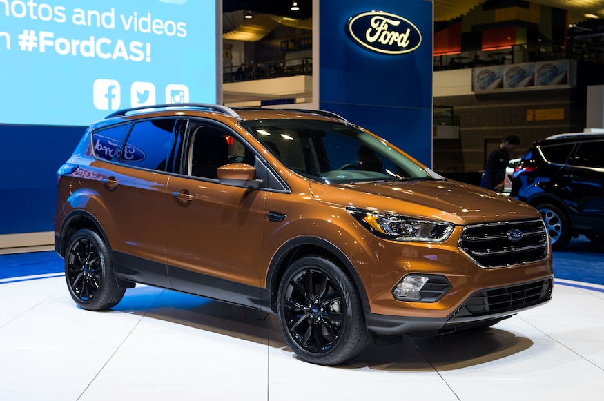 Ford Escape Sport >> 2017 Ford Escape Adds New Sport Appearance Package Automobile
