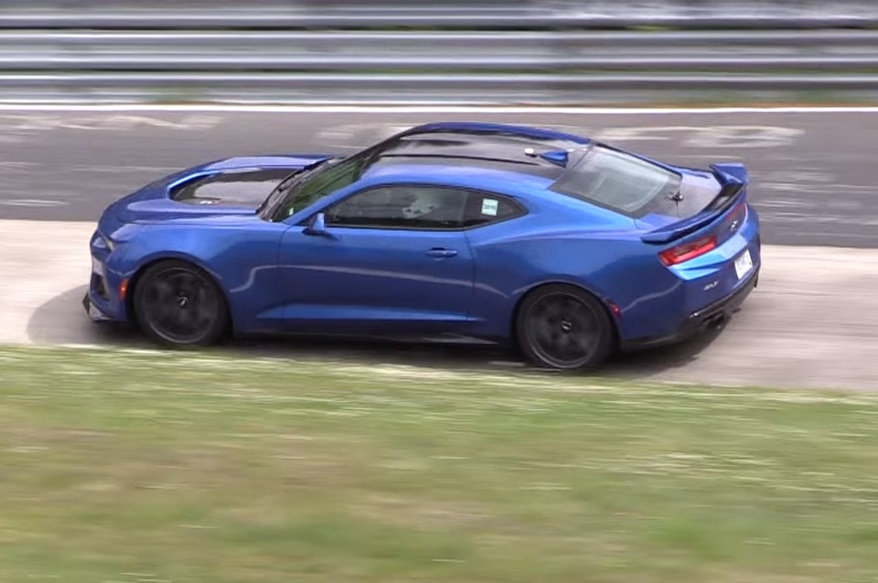 Watch the 2017 Chevrolet Camaro ZL1 Eat Up the Nurburgring ...