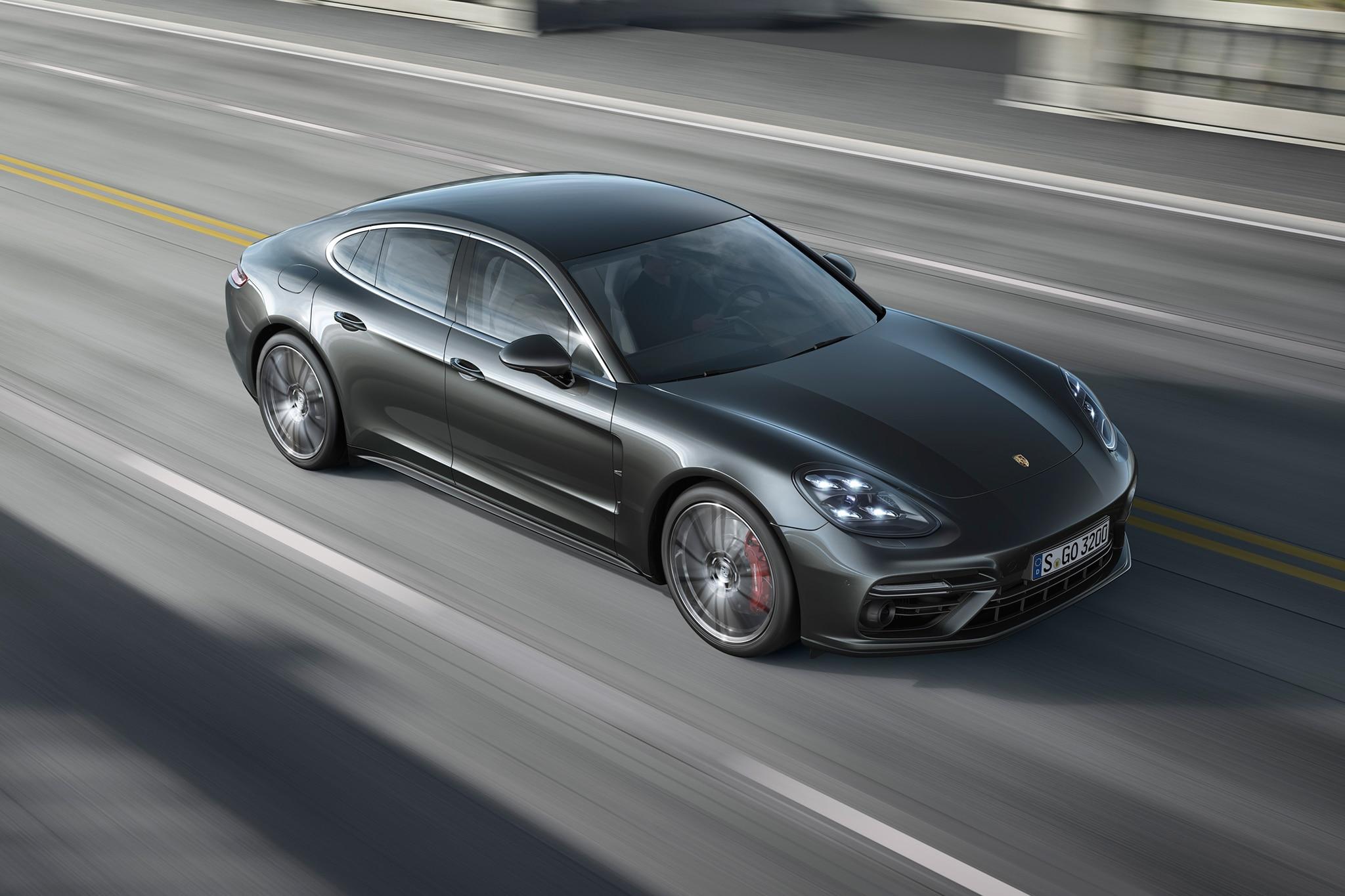 2017 Porsche Panamera Debuts With Fresh Design Powertrains