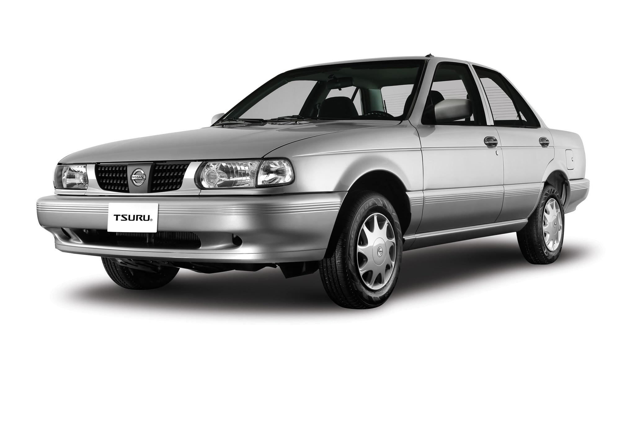 https://www.automobilemag.com/uploads/sites/11/2016/10/Nissan-Tsuru-front-three-quarters.jpg