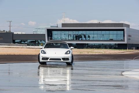 First Look Las All New Porsche Experience Center
