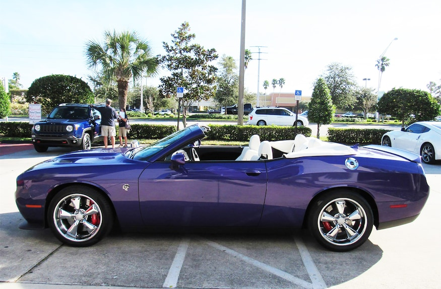 Dodge Challenger Convertible >> Just Listed 2016 Dodge Challenger Hellcat Convertible
