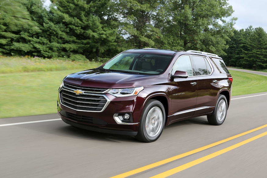 Chevy Traverse Mpg >> 2018 Chevrolet Traverse Premier First Drive Review Sep