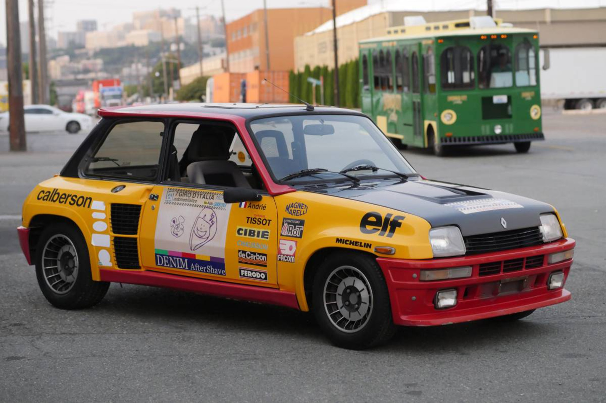 Just Listed 1984 Renault R5 Turbo 2 Rally Replica