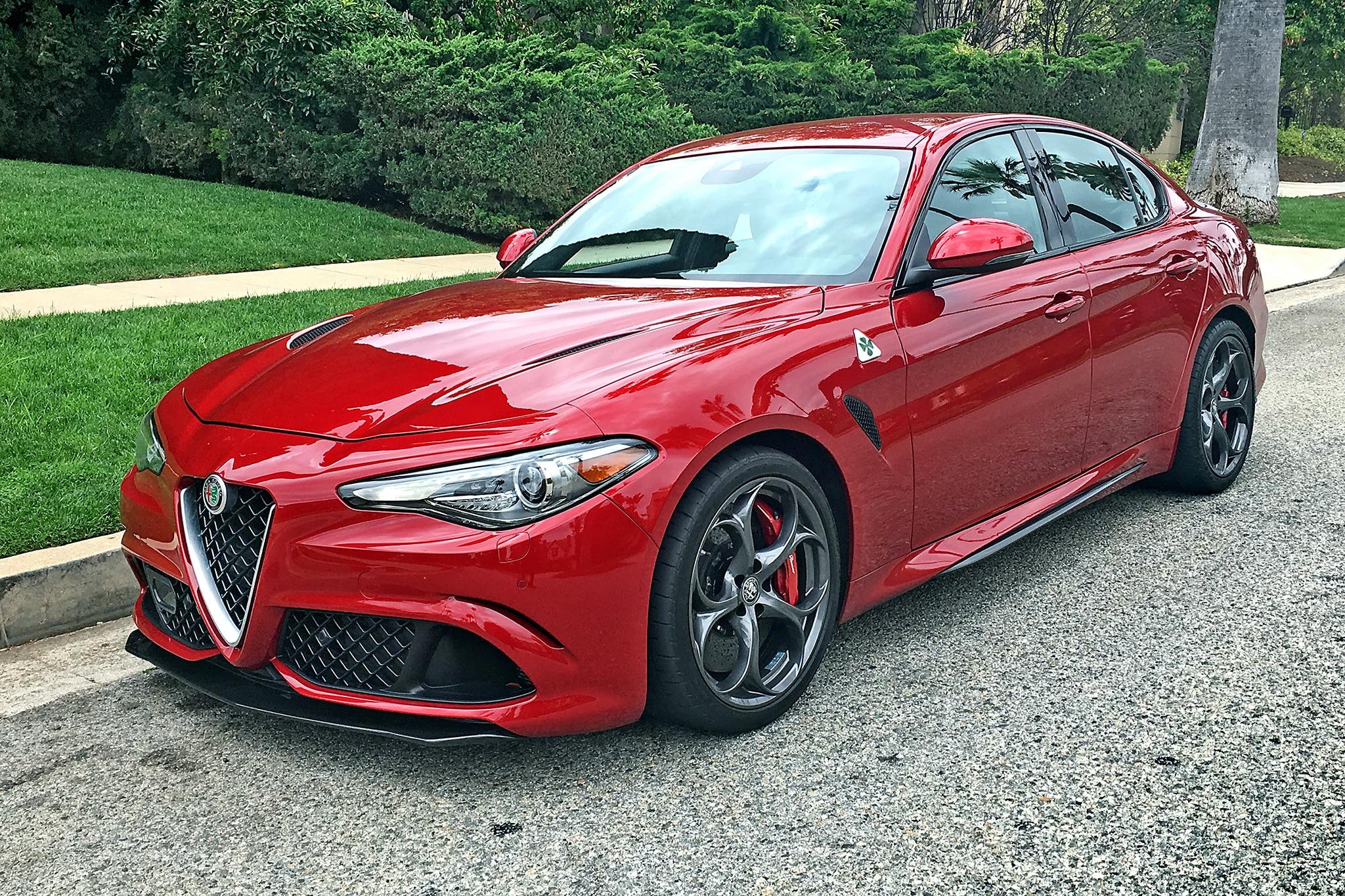 2016 Alfa Romeo Giulia Quadrifoglio Review   CarAdvice   Alfa Romeo Giulietta Quadrifoglio