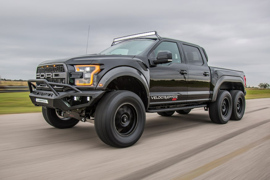 Hennessey Velociraptor 6x6 Debuts With A 349000 Price Tag