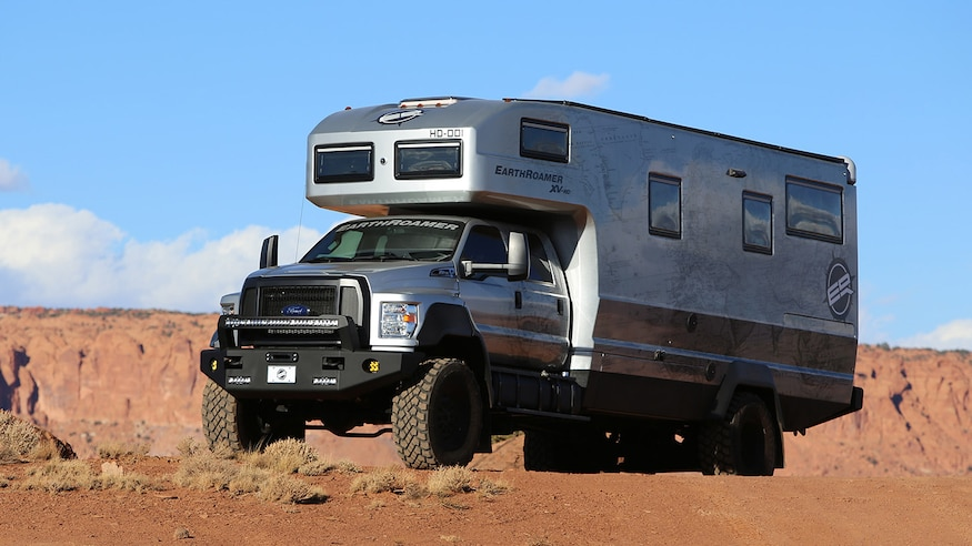 EarthRoamer XV HD Overland Camper Truck Exterior 9