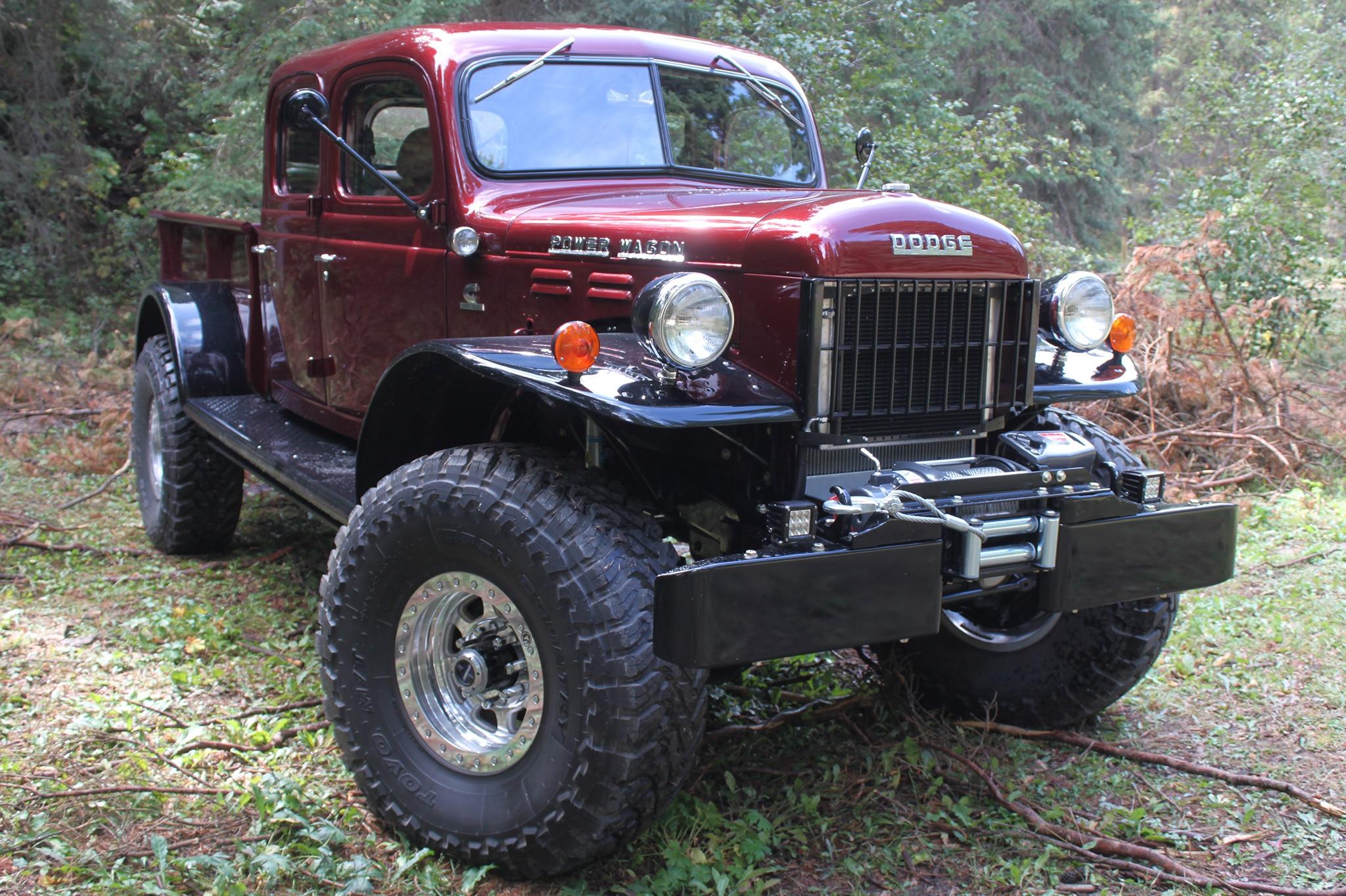 Legacy Classic Trucks Dodge Power Wagon Defines Custom Off Road Badassery
