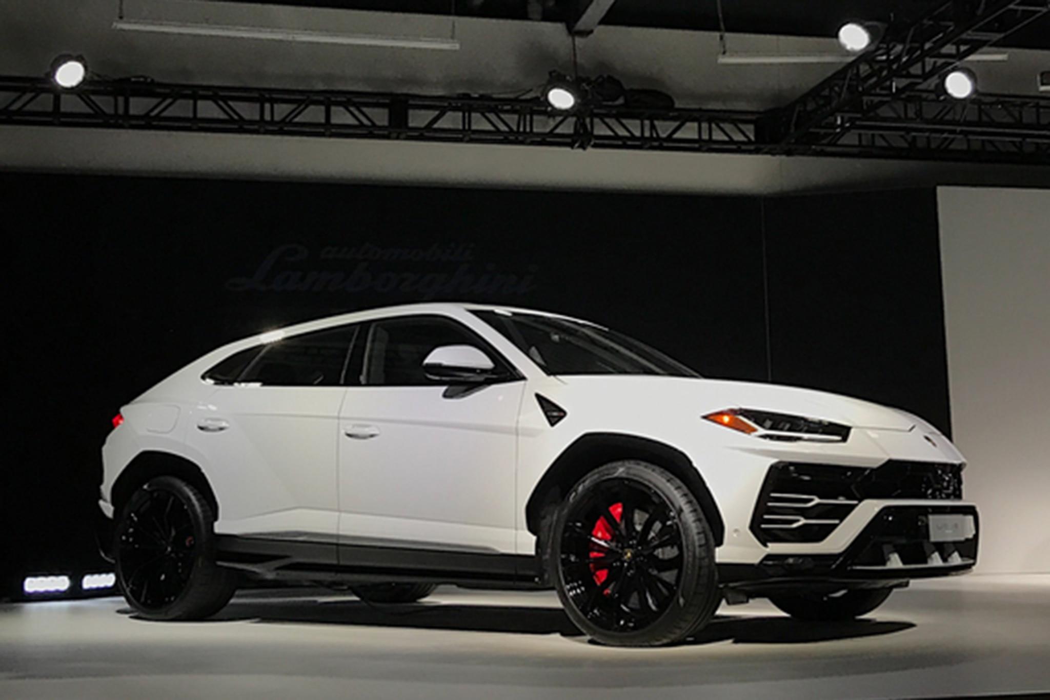 2019 Lamborghini Urus Charges into North America , Automobile