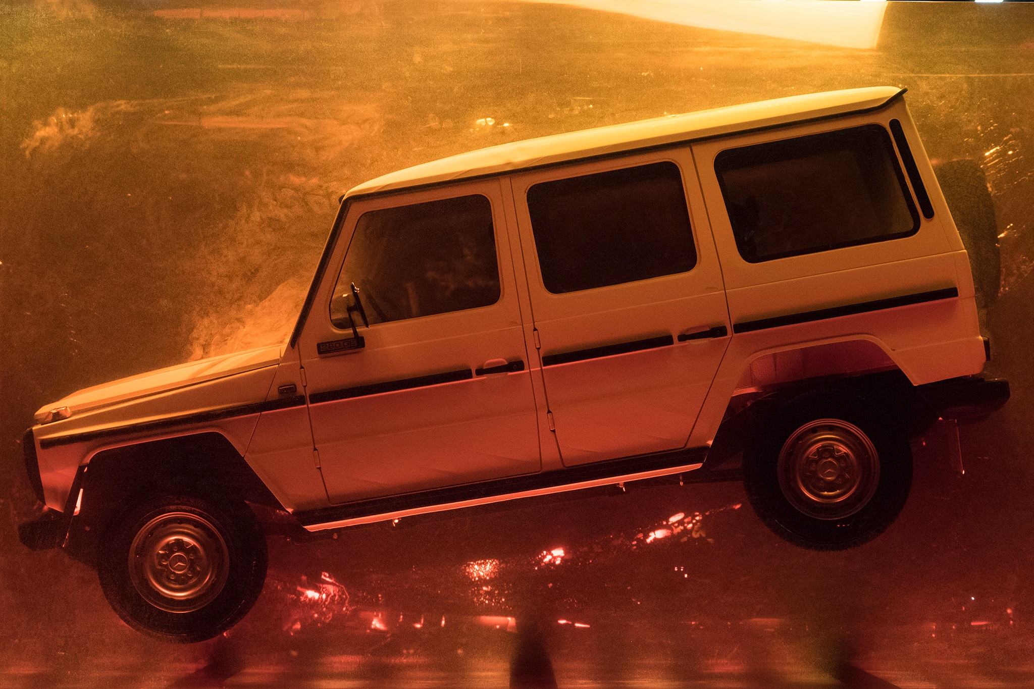 Mercedes Benz Fossilizes Classic G Class To Promote The Next Gen Ute