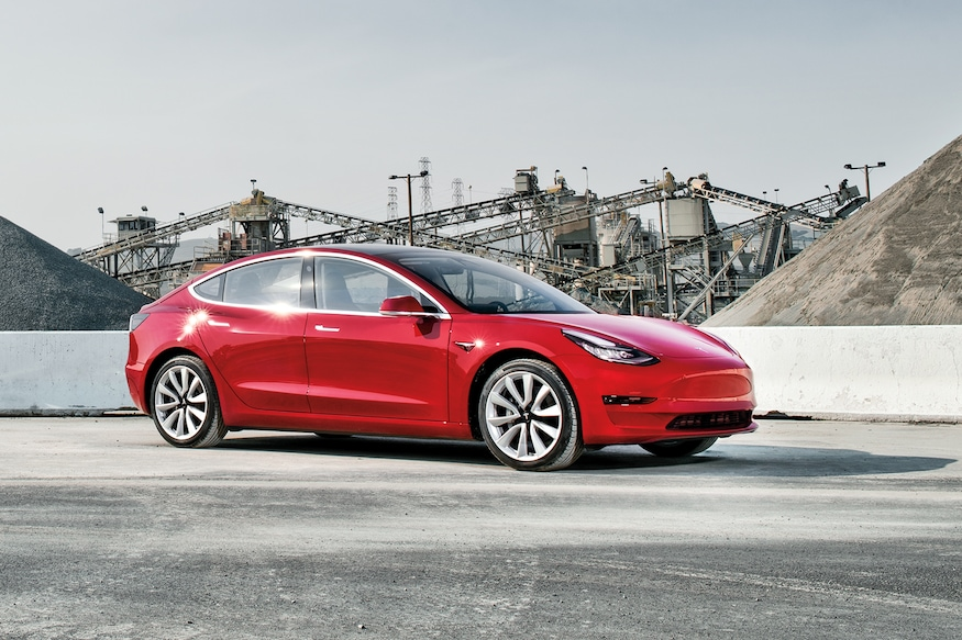 2018 Design Of The Year Tesla Model 3 Automobile