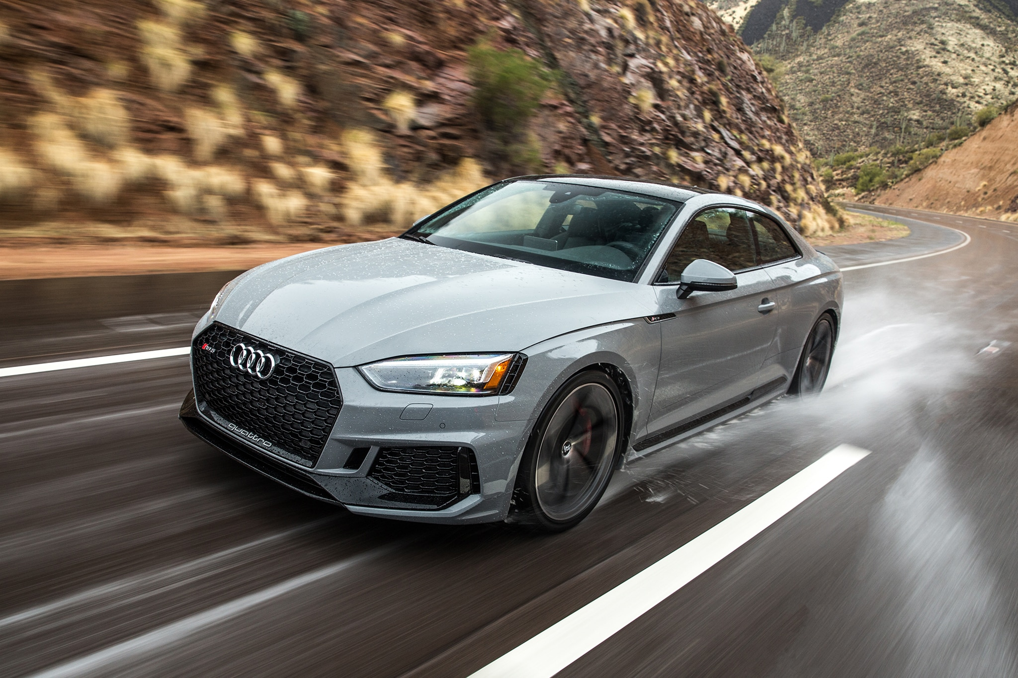 First Drive 2018 Audi Rs 5 Coupe U S Spec