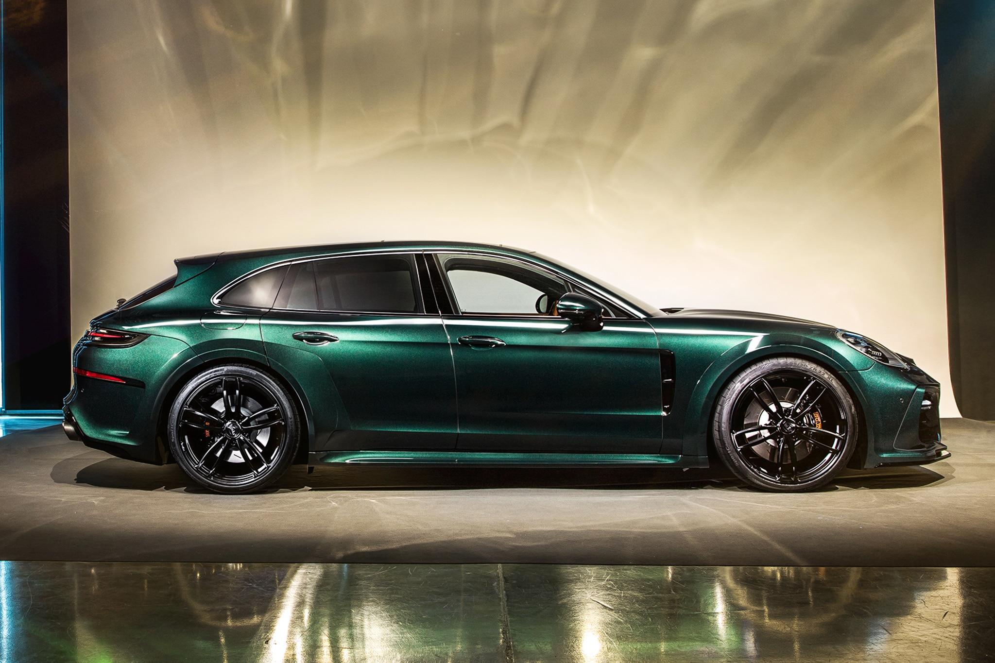 Techart\u0027s Porsche Panamera Sport Turismo Package to Debut in