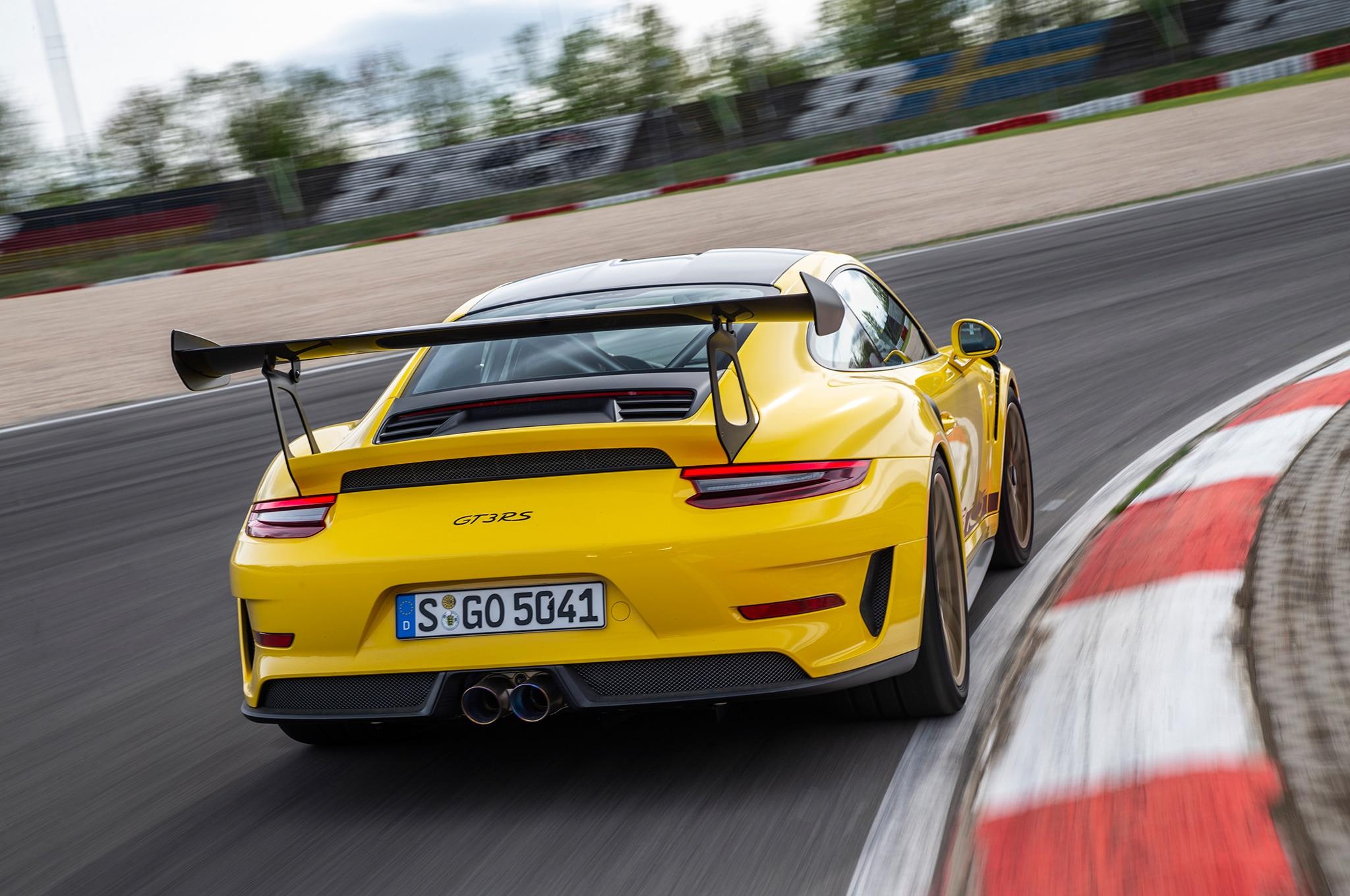First Drive 2019 Porsche 911 Gt3 Rs