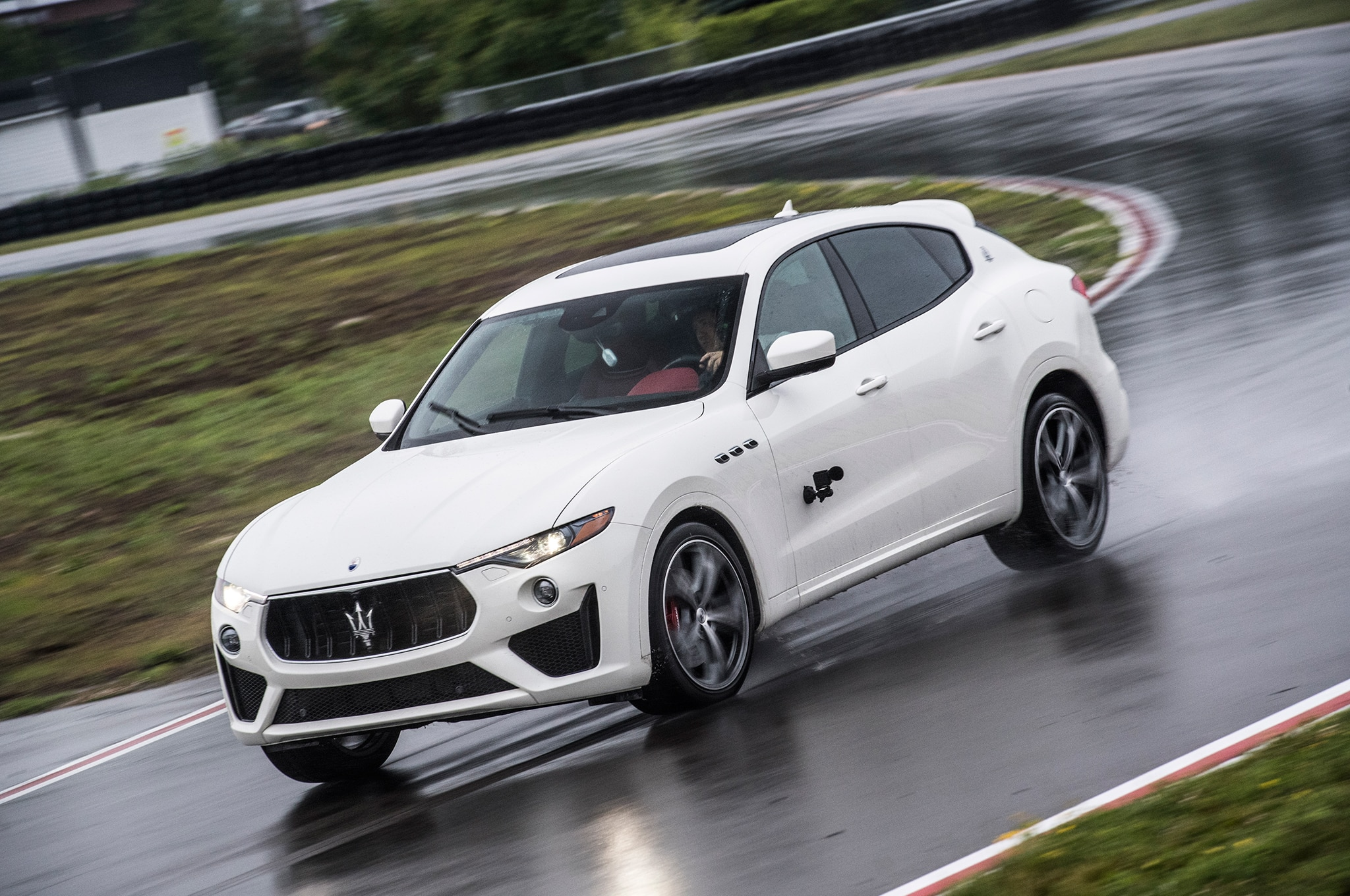 2019 Maserati Levante Gts Takes A Shot Across The Cayenne Turbo S Bow