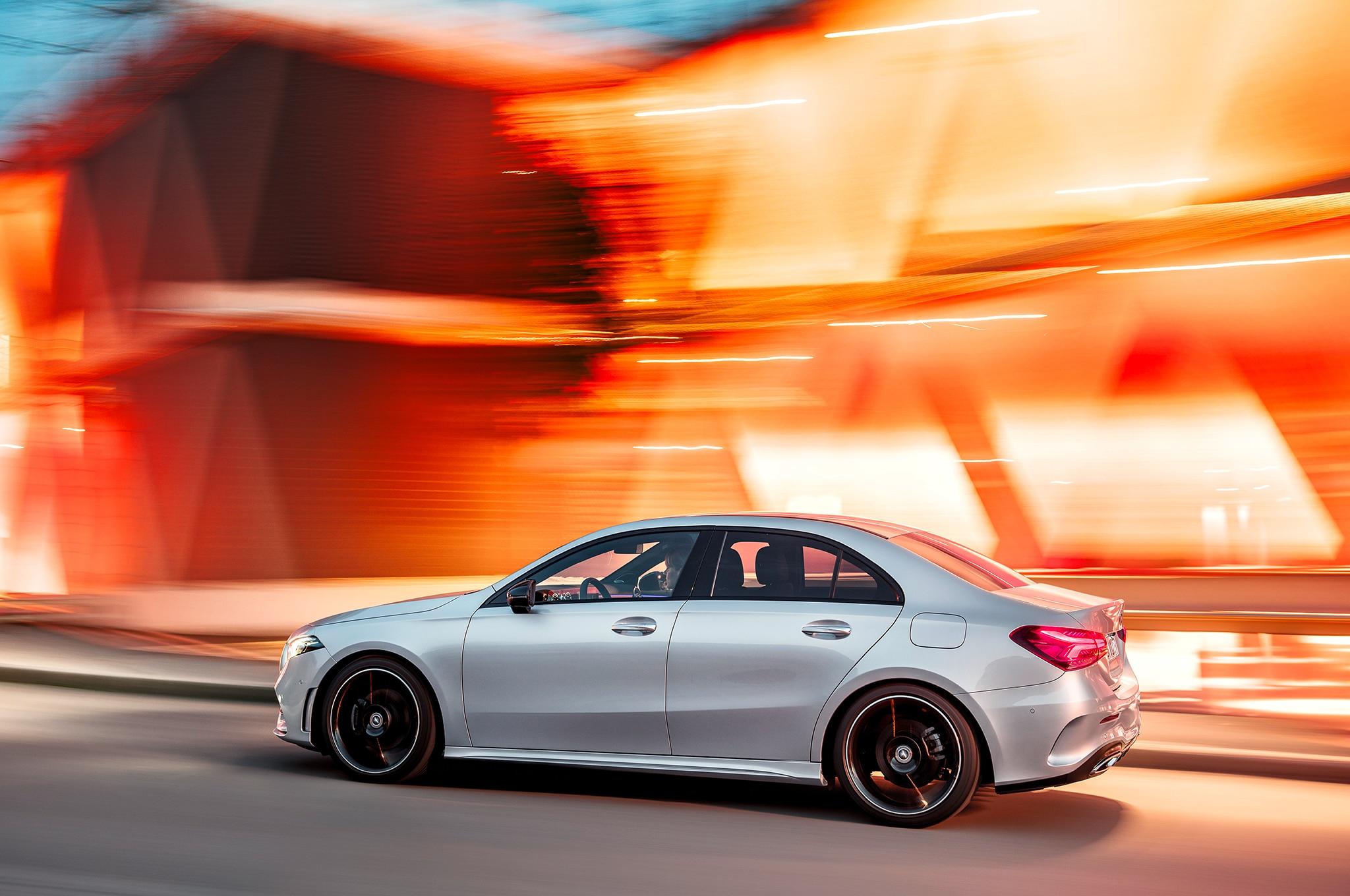 First Look 2019 Mercedes Benz A Class Sedan