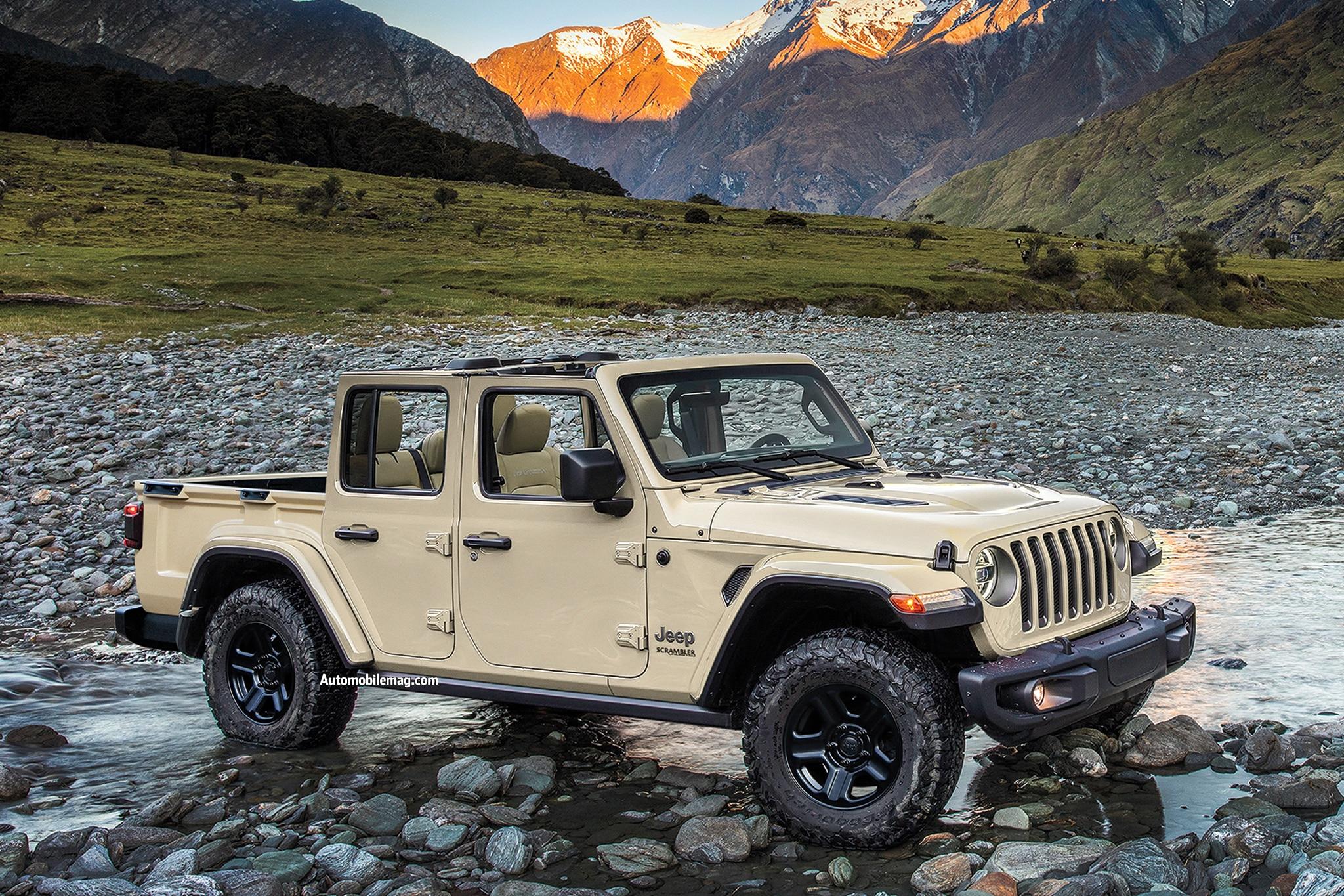 2019 New And Future Cars Jeep Scrambler
