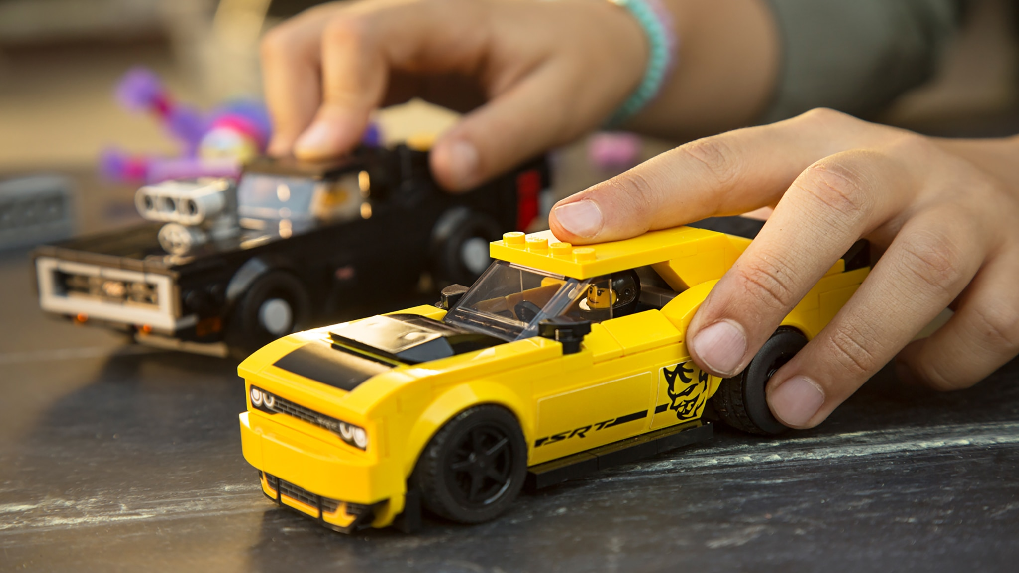 Little Demon Lego Launches Dodge Challenger Demon And 70 Charger Set