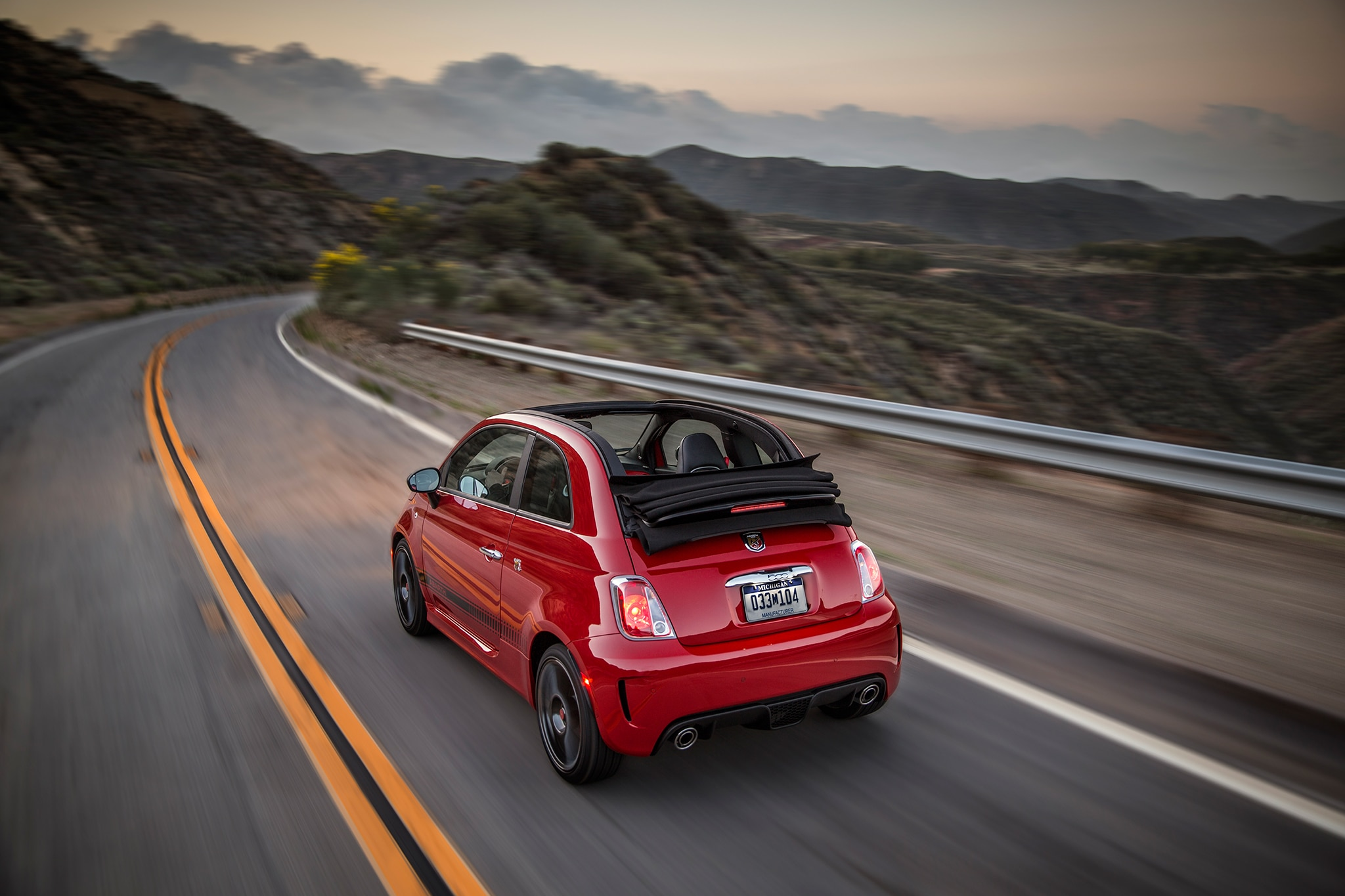 2019 Fiat 500 Abarth Cabriolet Review Fun But A Hard Sell Automobile Magazine