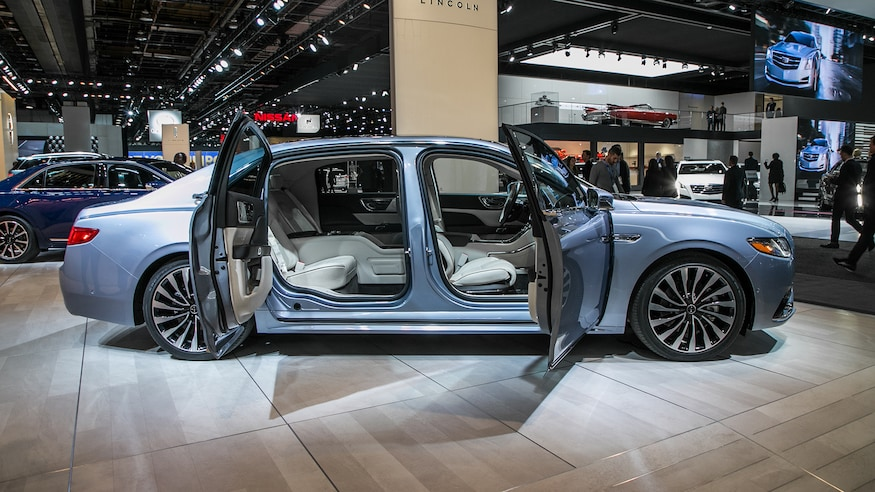 The New Lincoln Continental Is Getting Doors