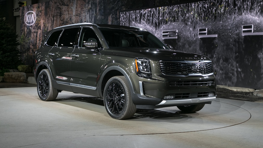 Best 3 Row Suv 2020.The 2020 Kia Telluride Is A Handsome Three Row Suv With New