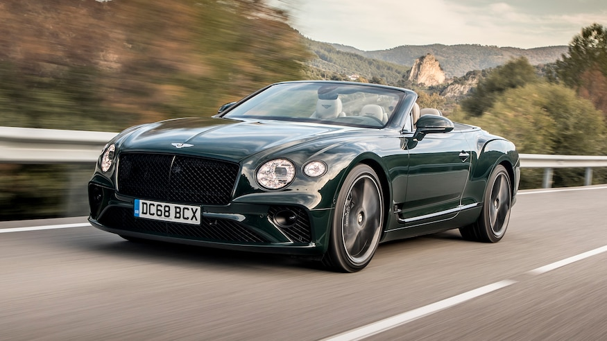 2020 Bentley Continental Gt Convertible First Drive It S